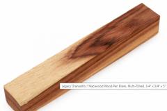 Legacy Granadillo Macawood Multi-Toned
