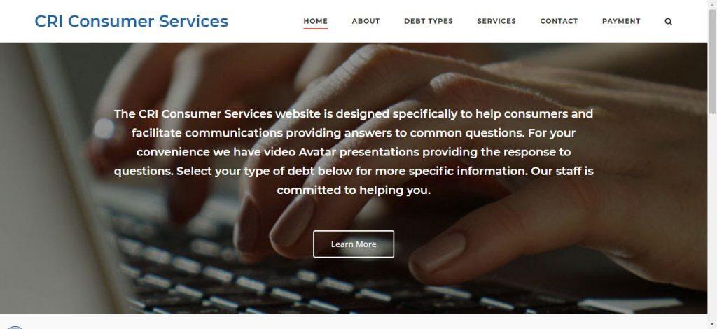 CRI Consumer Site